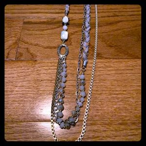 Ann Taylor Loft Multi-Strand Long Necklace